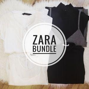 Zara 4 PC Tops/Blouses Bundle